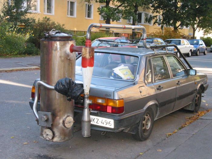 Авто на спирту своими руками 29