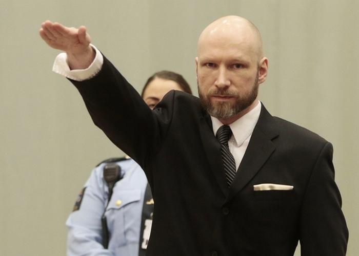 Nórsko Breivik Súd Odvolací Väznica