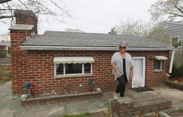 Anna Jones, the owner stands outside in front of the Brick Midget House in Brick, NJ  4/30/15 (William Perlman | NJ Advance Media for NJ.com)