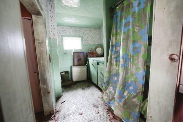 The bathroom in the Brick Midget House in Brick, NJ  4/30/15 (William Perlman | NJ Advance Media for NJ.com)