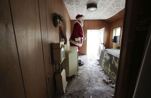 A christmas decoration is stored at the Brick Midget House in Brick, NJ  4/30/15 (William Perlman | NJ Advance Media for NJ.com)