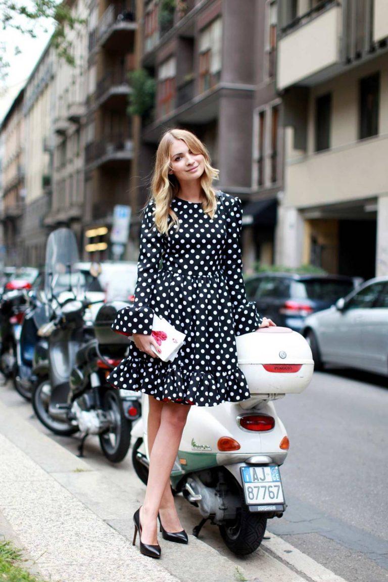 Polka dot fashion wear 81