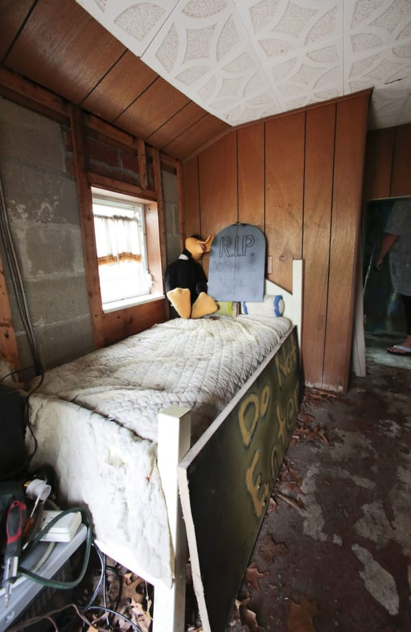 The bedroom of the Brick Midget House in Brick, NJ  4/30/15 (William Perlman | NJ Advance Media for NJ.com)