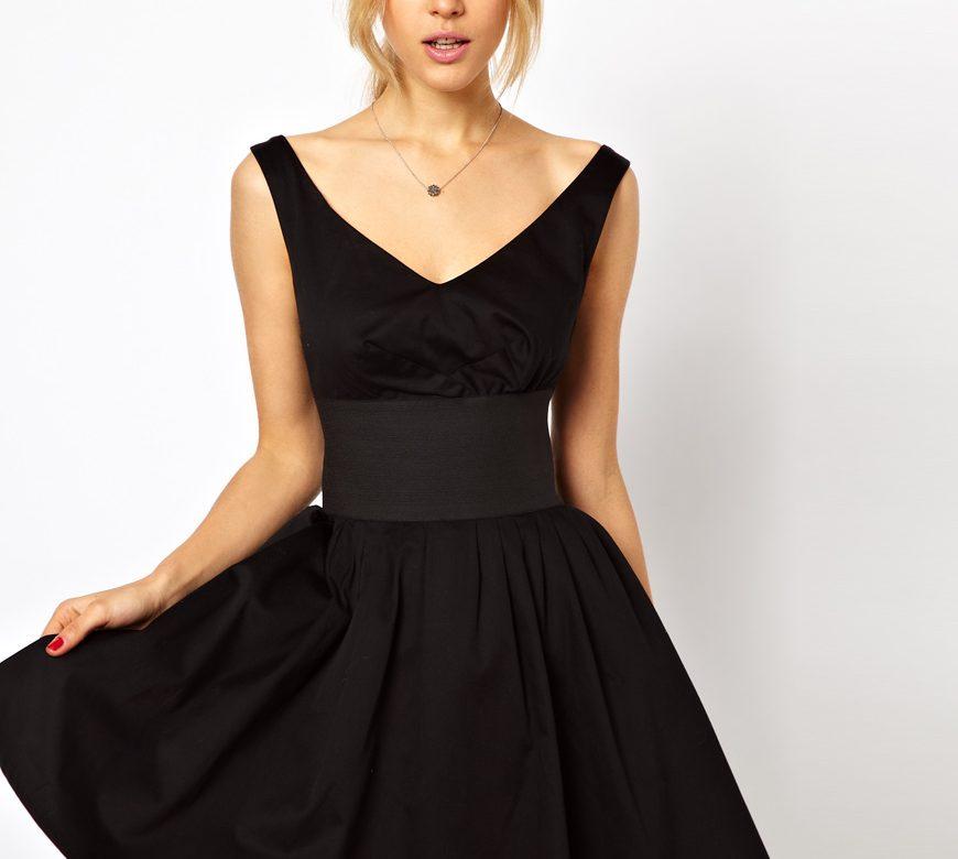 Купить Черное Платье Во Сне