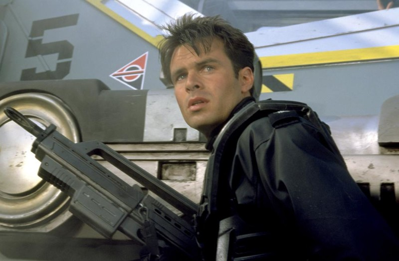 STARSHIP TROOPERS, Patrick Muldoon, 1997, ©TriStar Pictures