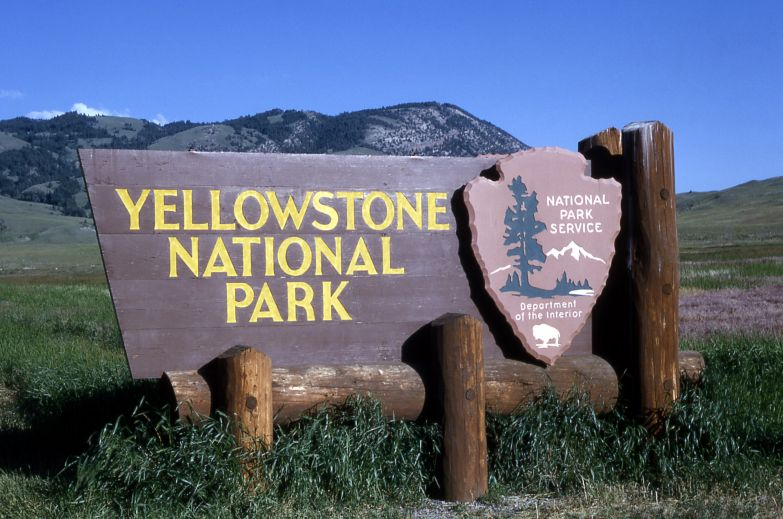 Йеллоустонский парк отличается четкой сменой времен года: зимой холодно, весной приятно, летом жарко, осенью прохладно