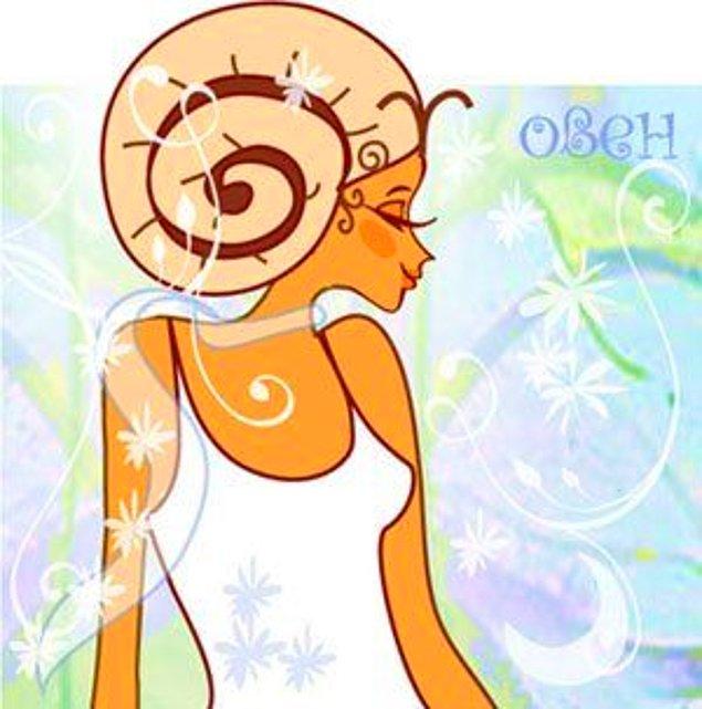 Зодиакальный гороскоп овен женщи