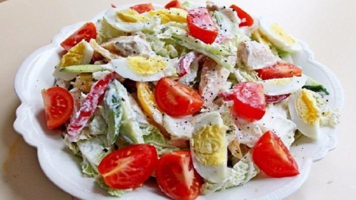 Салат с куриной грудкой рецепты